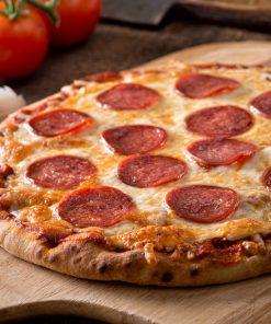 pizza con salame calabrese