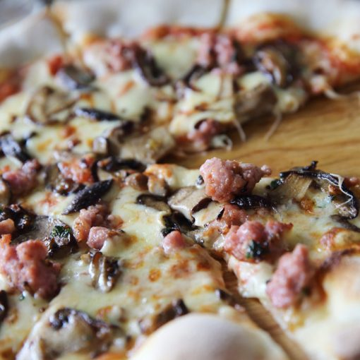 pizza trentina
